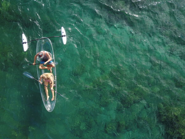 The Completely Clear Kayaks 1